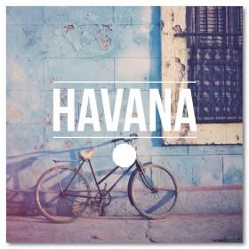 Αφίσα (ποδήλατο, Αβάνα, Κούβα)